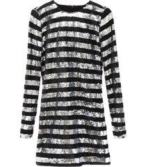 rta sequins and velvet dress