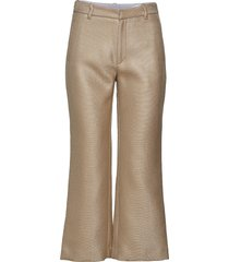 high trouser vida byxor beige hope