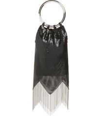 whiting & davis rio mesh bracelet bag in black at nordstrom