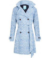 happyrainydays regenjas trenchcoat vaya cheetah viola off white-m
