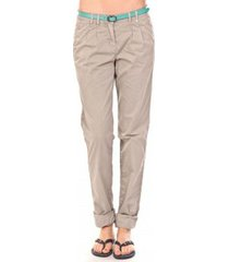 broek tom tailor pantalon ceinture gris