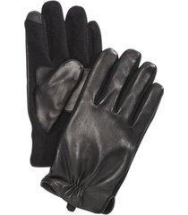 polo ralph lauren men's nappa hydrid gloves