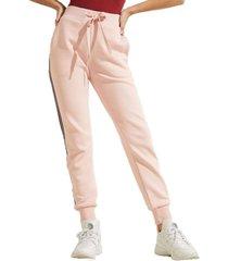 pantalon abigal fleece pant rosa guess