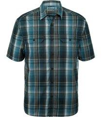wolverine men's axel short sleeve shirt blueprint plaid, size xxl