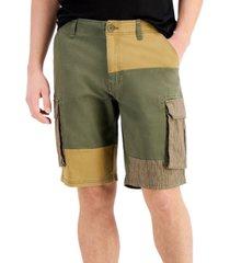 sun + stone colorblocked recruit shorts