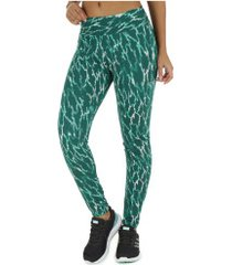 calça legging oxer tokio - feminina - verde esc/verde