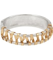 robert lee morris soho wrapped hinged bangle bracelet