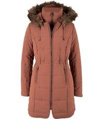 giacca trapuntata con cappuccio (marrone) - bpc bonprix collection