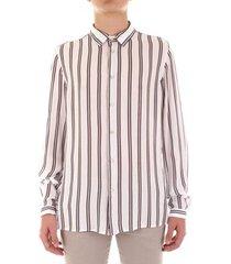 overhemd lange mouw bicolore f3782-ligustro