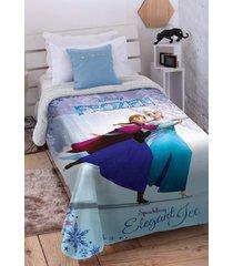 cobertor digital disney frozen 2 com sherpa jolitex 150x200 - multicolorido - dafiti
