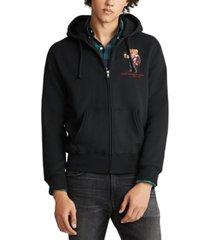 polo ralph lauren men's cocoa bear fleece knit sweatshirt