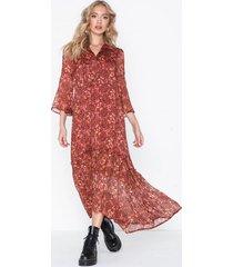 vero moda vmliva chif 3/4 ankle dress wvn ki klänningar