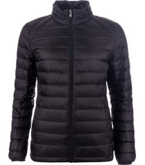 harvey and jones womens lightweight down jacket size 8 in black