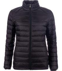 harvey and jones womens lightweight down jacket size 12 in black