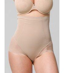 shapewear luna sculpt splendida hoge taille mesh afslankingslip 39 cm