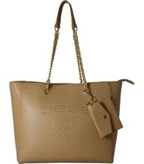 bebe allegro medium tote with card case