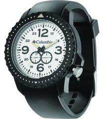 relógio columbia urbaneer preto/branco