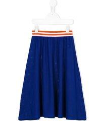 bobo choses nadia mid-lenght skirt - blue