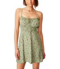 cotton on woven elsie strappy mini dress