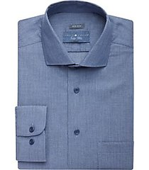joseph abboud indigo blue dress shirt pale denim