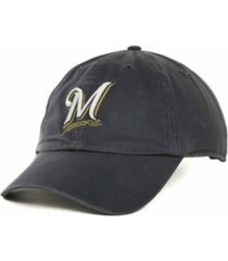 '47 brand milwaukee brewers mlb clean up cap