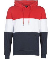 windjack urban classics color block pull over jacket