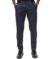 calça docthos sarja alfaiataria masculina
