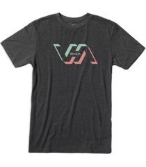 rvca men's shorts sleeve graphic t-shirt
