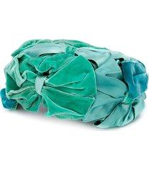 a.n.g.e.l.o. vintage cult 1950's bow embellished hat - green