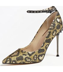 decollete oleane animalier borchie