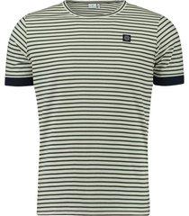 t-shirt gestreept wit