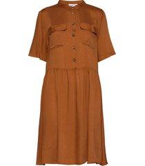 bailesz ss dress knälång klänning brun saint tropez