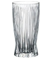 conjunto com 2 copos fire long drink 375ml riedel