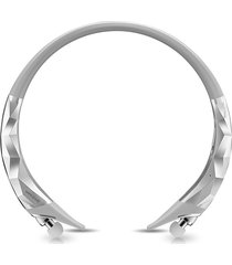 audífonos bluetooth deportivos, hx885 auriculares estéreo inalámbricos audifonos bluetooth manos libres  con micrófono portátil cancelación de auriculares de deporte (plata)