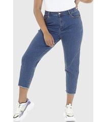jeans brave soul celeste - calce regular