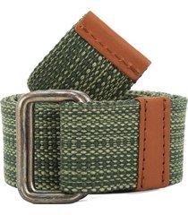 cinturón verde-café colore