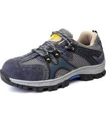 scarpe da lavoro antinfortunistiche con puntale anti foratura per uomo in acciaio