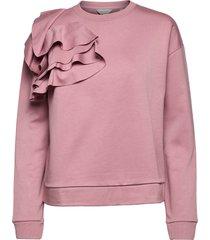 ozai sweat-shirt tröja rosa ted baker