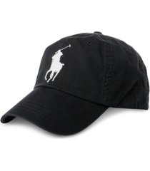 polo ralph lauren men's big pony chino sports hat