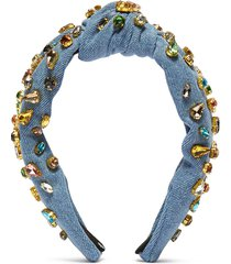 candy' jewelled knotted headband