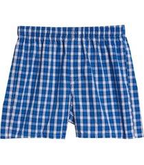 boxer cuadros azul gap