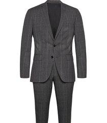 huge6/genius5 kostym grå boss
