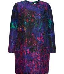 reidar longsleeved minidress korte jurk multi/patroon hálo