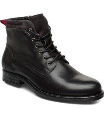 sutton 4b snörade stövlar svart marc o'polo footwear