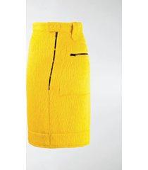 kwaidan editions asymmetric pencil skirt