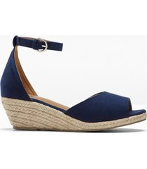 espadrillas con zeppa (blu) - bpc bonprix collection