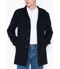 selected homme slhcovent wool coat b noos jackor mörk blå