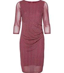 dresses knitted knälång klänning röd esprit collection