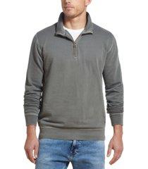 weatherproof vintage men's quarter-zip knit sweater