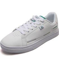 tenis lifestyle blancos-verdes usten court zoom